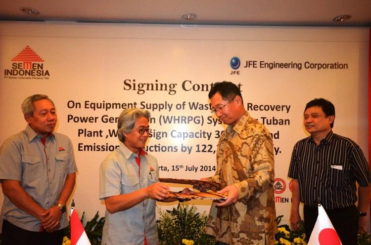 Semen Indonesia-JFE Engineering