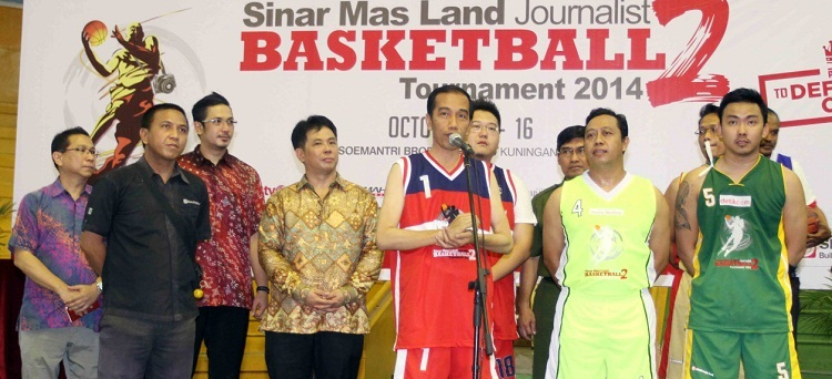 Jokowi Buka SML Journalist