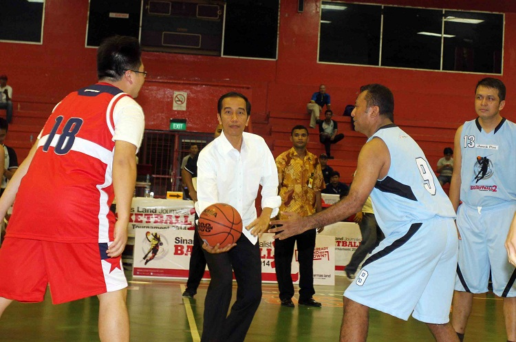 Jokowi SML Journalist Basketball Tournament 5