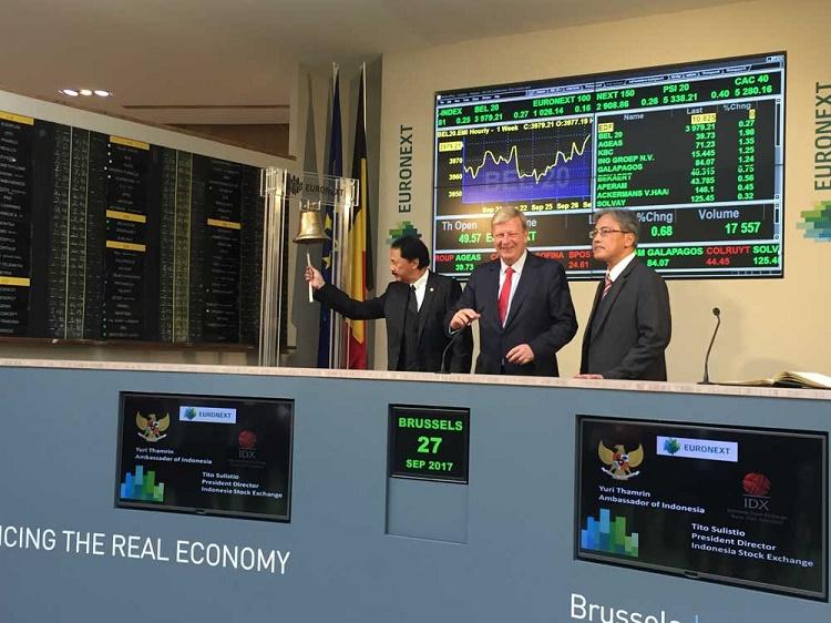 Dirut BEI Buka Perdagangan di Euronext