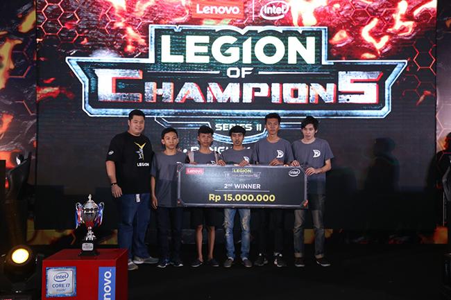 Devoticore as the 2nd winner of LOC Final Jakarta-a
