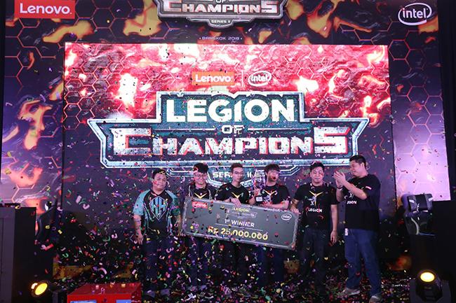 Headhunters as the winner of LOC Final Jakarta-a