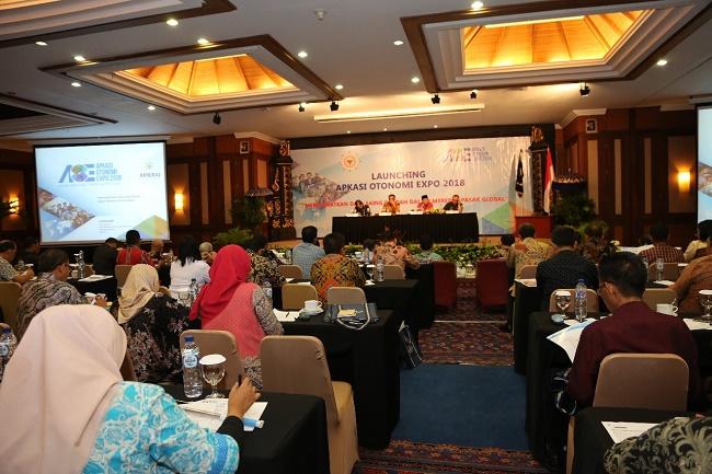Launching Apkasi Otonomi Expo 2018 di Bali_Humas Apkasi-b