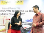 "Grand Prize Program ""Co-Branding Maybank Finance"""